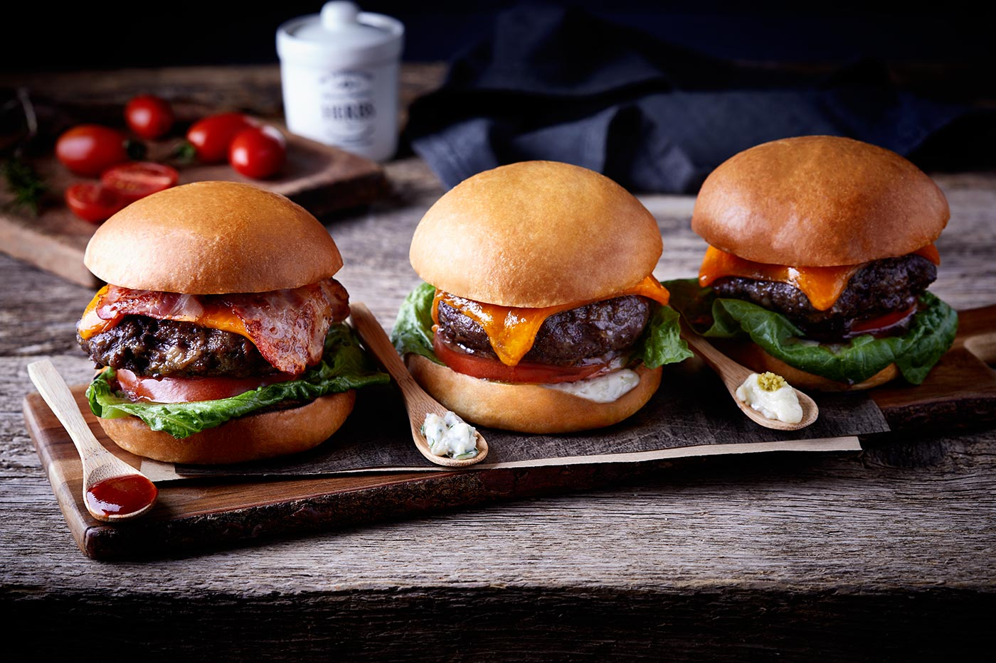 BEST DELIVERY FOOD FLANK STEAK BURGERS