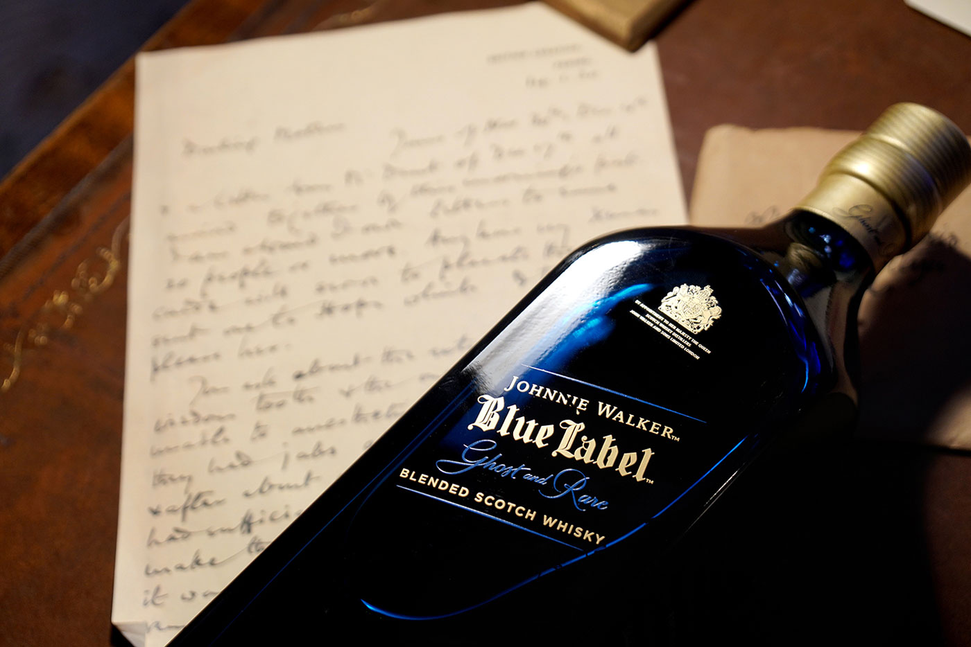 JOHNNIE WALKER BLUE LABEL GHOST