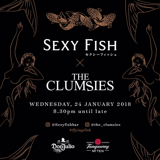SexyFish/The Clumsies