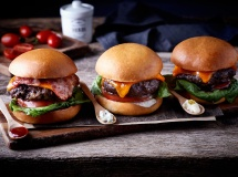 FLANK STEAK BURGERS